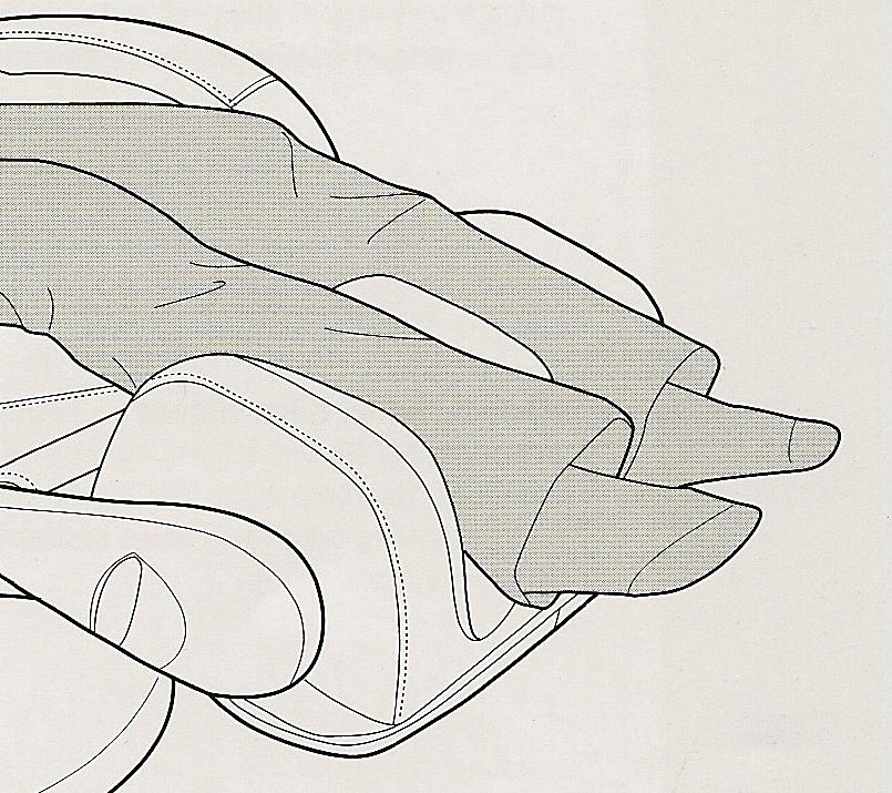 Массаж голеней в массажном кресле Human Touch HT-270
