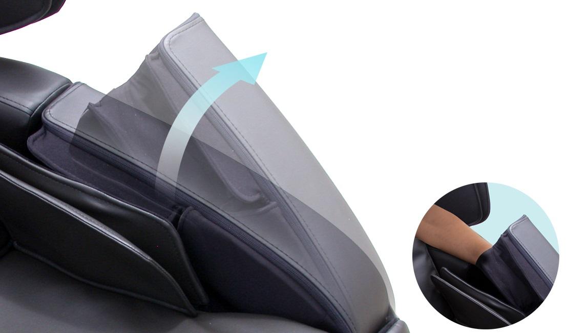массаж рук в массажном кресле acutouch 6.0 от американской компании human touch